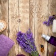 Lavender Spa — Stock Photo #27718675