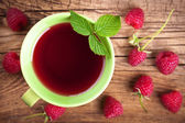 Raspberry Tea — Stock Photo
