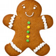 Gingerbread Man — Stock Photo #34519223