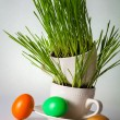 Foto de Stock  : Easter Composition