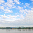View of Khong river — Stock Photo