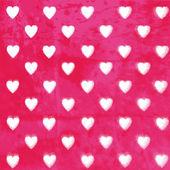 Hearts background. — Stock Photo