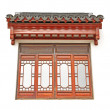 Chinese roof window — Stock Photo