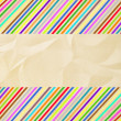 Colorful crinkle paper — Stock Photo #33857881