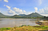 Khong river — Stock Photo