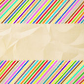 Colorful crinkle paper — Stock Photo
