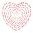 Love — Vector de stock #33865563
