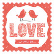 Love forever — Vector de stock #33890841