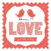 Love forever — Stock Vector