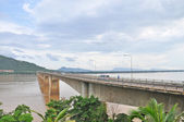 Laos Japanese Bridge — Stock Photo