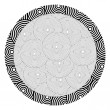 Circle pattern — Stock Vector
