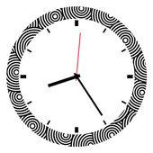 Saati çizimi — Stok Vektör