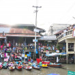 Amphawa floating market. Samut Songkhram of Thailand. — Stock Photo