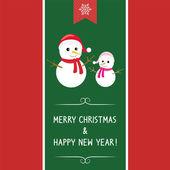 Christmas greeting card68 — Stock Vector