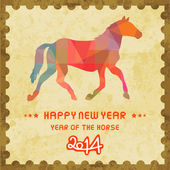 Happy new year 2014 card48 — Stock Photo