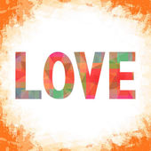 Colorful love letter card9 — Stockfoto