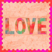 Colorful love letter card8 — Stock Photo