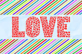 Colorful love letter card13 — Stock Photo