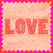 Colorful love letter card14 — Stock Photo