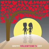 Romantic card34 — Stockvector