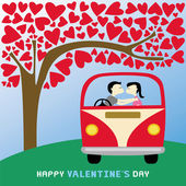 Romantic card45 — Stockvector