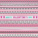 Seamless valentine card1 — Stock Vector