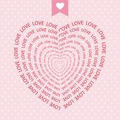 ロマンチックな card52 — ストックベクタ