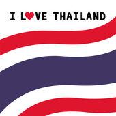 I love Thailand17 — Stok Vektör