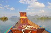 På båten — Stockfoto