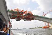 Bridge construction — Stock Photo