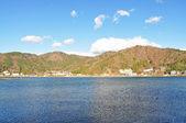 Kawaguchiko lake — Zdjęcie stockowe