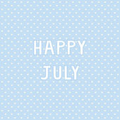Happy July2 — Stock Vector