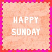 Happy Sunday6 — Stock fotografie