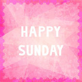 Happy Sunday7 — Stock fotografie