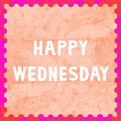 Happy Wednesday6 — Stock fotografie