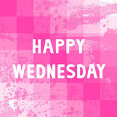 Happy Wednesday9 — Stock fotografie