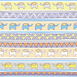 Seamless elephant pattern background2 — Stock Vector #46455955