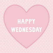 Happy Wednesday5 — Stockvector