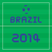 I lOVE BRAZIL2 — Stockvektor