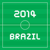 BRAZIL2014 Background4 — Stockvektor