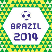 BRAZIL2014 Background1 — Stok Vektör