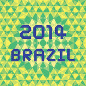 BRAZIL2014 Background5 — Stok Vektör