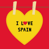 I lOVE SPAIN5 — Vector de stock