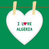 I lOVE ALGERIA5 — Stock Vector