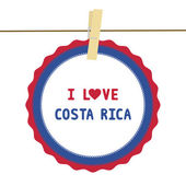 I lOVE COSTA RICA4 — Stock Vector