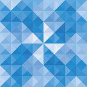 青い三角形 background6 — ストックベクタ