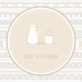 Good Afternoon1 — Stock vektor