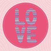 Amor letter2 — Vetorial Stock
