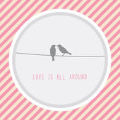 Love is all around2 — Stock Vector