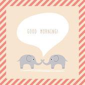 Dobry morning2 — Stockvector